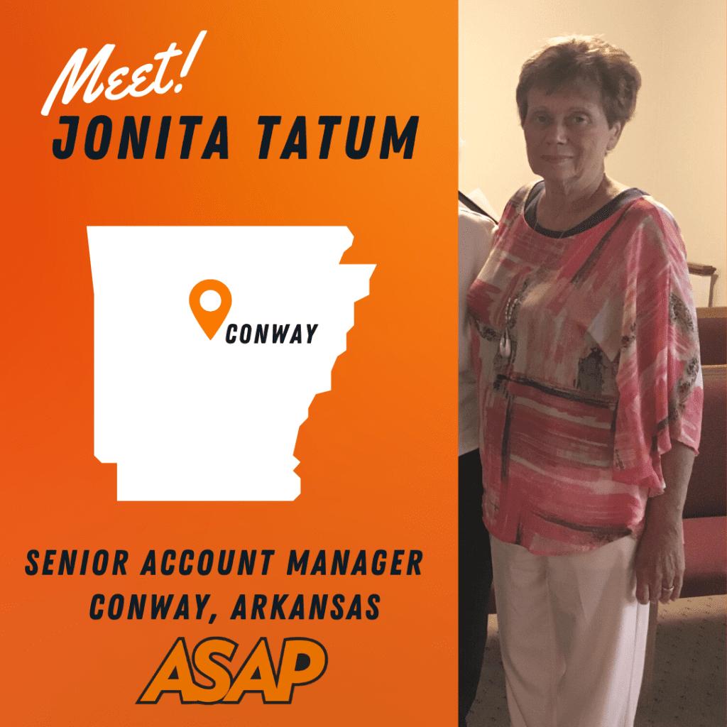 Jonita Tatum - ASAP Personnel Services Staffing